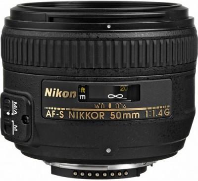 Nikon AF-S NIKKOR 50mm f/1.4G Lens  Lens(Black, 55 - 210) 1