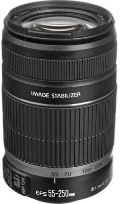 Canon EF-S 55 - 250 mm f/4-5.6 IS II Lens�  Lens(Black)  available at flipkart for Rs.13990