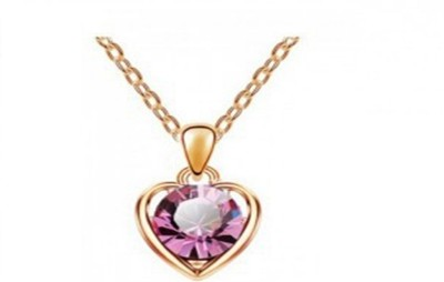 Shining Jewel 24K Ball Yellow Gold Plated Brass Necklace