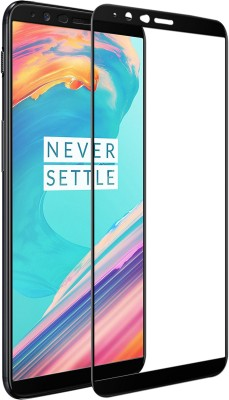Hupshy Tempered Glass Guard for OnePlus 5T(Pack of 1)