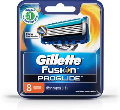 Gillette Fusion Proglide FlexBall Manual Shaving Razor Blades (Cartridge) - 8s Pack