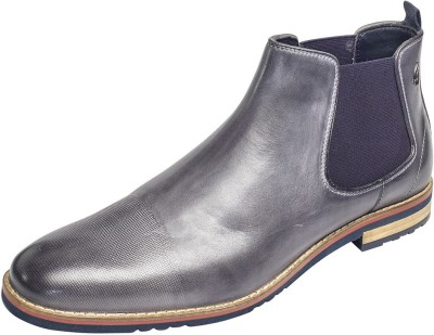 Gabicci FLEETWOOD CHELSEA BOOT Slip On For Men(Grey)