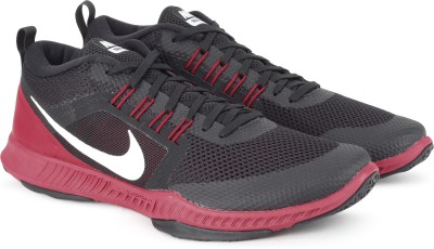 Nike ZOOM DOMINATION TR Training Shoes For Men(Black, Red) 1