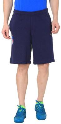 Puma Solid Men Blue Sports Shorts
