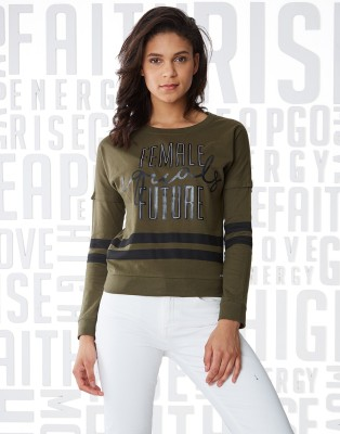 Metronaut MARVEL Printed Men Round Neck Green T-Shirt
