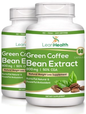63 Off On Leanhealth Green Coffee Bean Extract 50 Gca 60