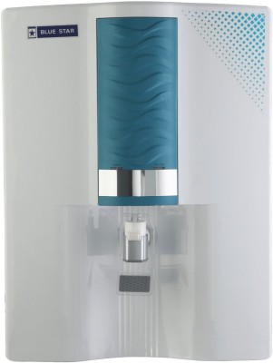 Blue Star Majesto 8 RO Water Purifier(white and blue)