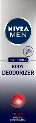 Nivea Men Fresh Protect Deodorizer Intense Body Spray For Men 120 ml