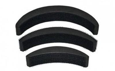 NERR Sponge Maker Styling Twist MagicBun Volume Base Bumpit Hair Accessory Set(Black)  available at flipkart for Rs.118