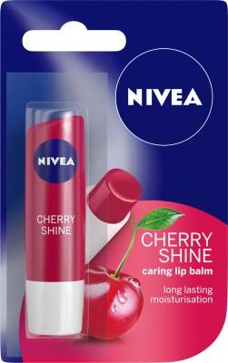 Nivea Shine Caring Lip Balm Cherry(4.8 g)