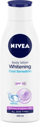 Nivea Lotion Whitening Cool Sensation SPF 15 200ml