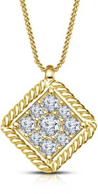 The Marketvilla 925 Sterling Peacock Heart Shape Valentine Locket For Girls & Woman Rhodium Cubic Zirconia Silver Pendant