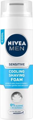 Nivea MEN Sensitive Cooling Shaving Foam 200ml
