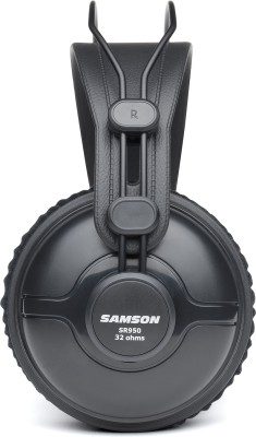 Samson SR950 - Professional Studio Reference Headphones Wired Headset without Mic(Black, Wireless over the head)