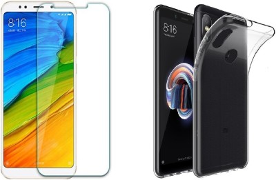 Craftech Screen Protector Accessory Combo for Redmi Note 5 Pro(Transparent)