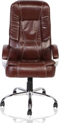 Green Soul Vienna High Back Office Chair Leatherette Office Executive Chair(Brown)