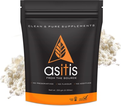 AS-IT-IS Nutrition Whey Protein Concentrate 80% - 250 gms unflavored Whey Protein(250, unFlavored)  available at flipkart for Rs.389