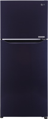 LG 260 L Frost Free Double Door 3 Star Refrigerator(Dark Purple, GL-C292SCPU)  available at flipkart for Rs.23990