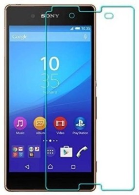 EASYBIZZ Tempered Glass Guard for Sony Xperia M4 Aqua(Pack of 1)
