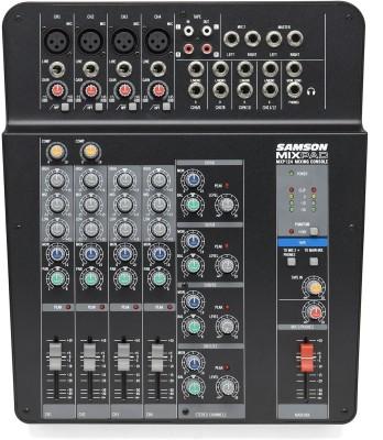 Samson MixPad® MXP124 - Compact, 12-Input Analog Stereo Mixer Analog Sound Mixer