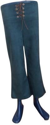 Blugee Regular Fit Women Red, Blue Trousers