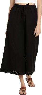 Rangmanch by Pantaloons Regular Fit Women Black Trousers