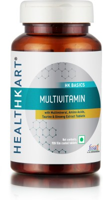 Healthkart MultiVitamin with Ginseng Extract