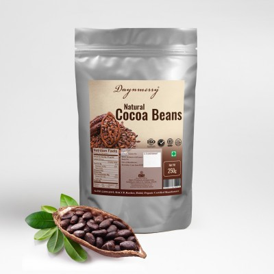Daynmerry Natural Cocoa Beans Cocoa Solid(250 g)
