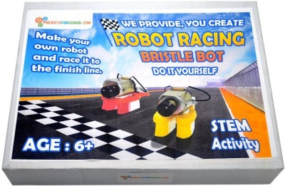Compare projectsforschool bristle bot simple robot working model diy projectsforschool robot racing bristle bot stem activity science projects working models diy science experiment kit solutioingenieria Choice Image