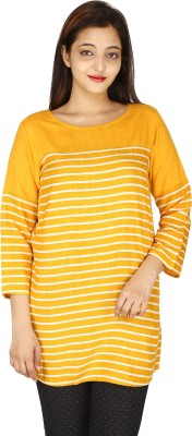 Manola Casual Short Sleeve Striped Women