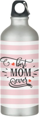 Giftsmate Best Mom Ever Stainless Steel Sipper Water Bottle for Mother Mom for Gym, Office 600 ml Sipper(Pack of 1, Pink)  available at flipkart for Rs.449