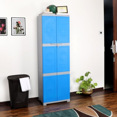 dp red big plastic cupboard wardrobe and cello novelty multipurpose blue