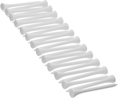 INESIS by Decathlon 69 MM WOODEN TEE X 25 golf Tees(Pack of 25, White)  available at flipkart for Rs.99