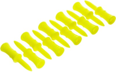 INESIS by Decathlon 24 MM STEP TEE X10 golf Tees(Pack of 10, Yellow)  available at flipkart for Rs.149