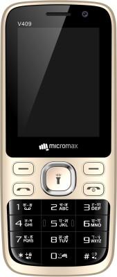 Micromax Bharat 1 V409(Black, Champagne)