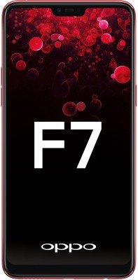 OPPO F7 (Red, 128 GB)(6 GB RAM) at flipkart