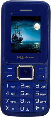 Muphone M1(Blue & Black)