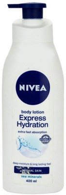Nivea Express Hydration Extra Fast Absorption Body Lotion(400 ml)