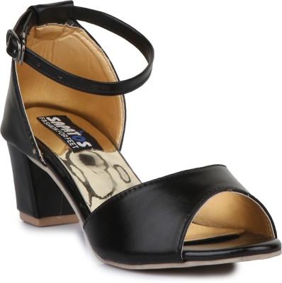 Sapatos Women Black Heels Flipkart