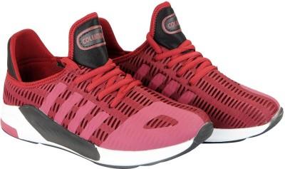 a69ae4013 Buy Columbus CYCLONE Mesh Running Training & Gym Shoes For Men(Maroon) on  Flipkart | PaisaWapas.com