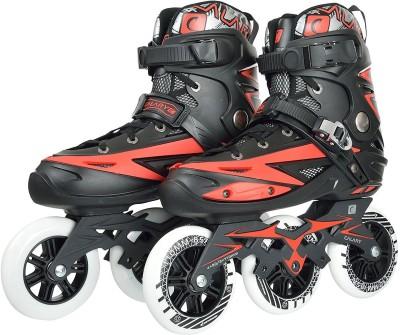 Iris 110 mm Adjustable In-line Skates - Size 6 UK(Blue, Black)