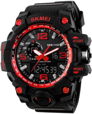 Skmei AD1155RED ANALOG+DIGITAL WATCH FOR MAN Watch  - For Boys
