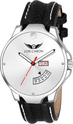 b1a179013 Compare lois caron lcs 8043 white dial day date functioning watch ...