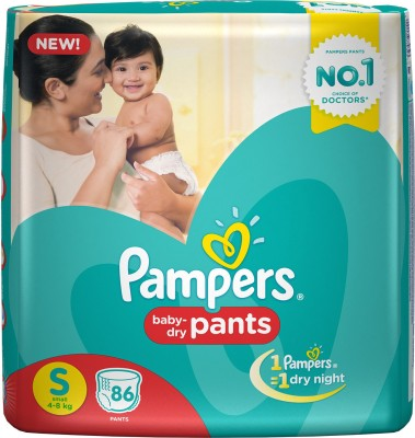 Pampers Pants S Diapers (86 Pieces)