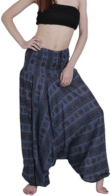 Shop Frenzy Printed Cotton Men & Women Harem Pants