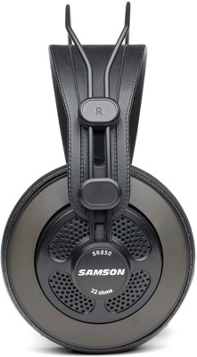 Samson SR850 - Wired Headset without Mic(Black, Wireless over the head)