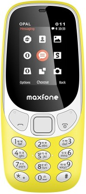 Maxfone Opal-011(Yellow)