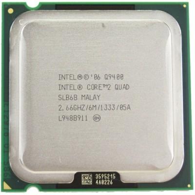 Intel 2.66 LGA 775 Core 2 Quad Processor Q9400 Processor(Silver)