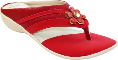 Ileana Women Red Flats