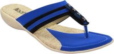 Ileana Women Blue Flats